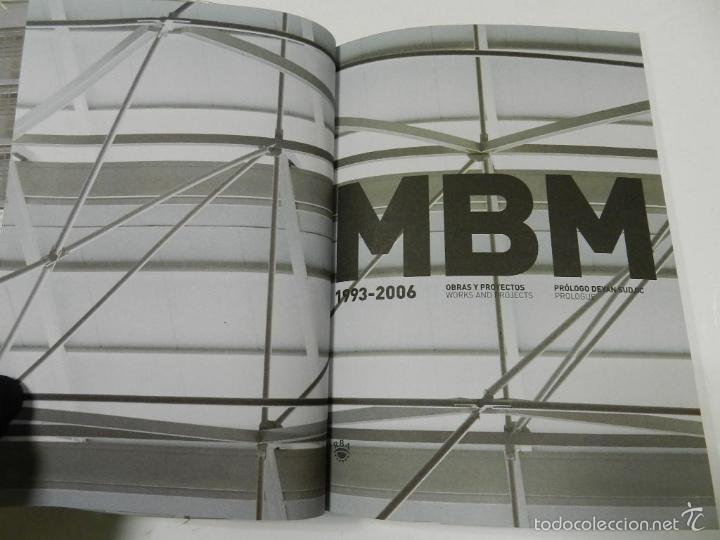 Libros de segunda mano: MBM ARQUITECTES 1993 2006 ARQUITECTURA JOSEP MARTORELL, ORIOL BOHIGAS, DAVID MACKAY - Foto 2 - 55772623