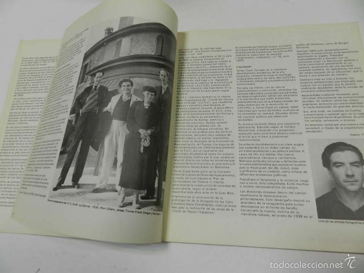 Libros de segunda mano: 2C CONSTRUCCION DE LA CIUDAD N 15-16 Josep Torres Clavé 1980 ARQUITECTURA - Foto 3 - 55818508