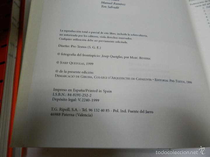 Libros de segunda mano: PASADO A LIMPIO II JOSEP QUETGLAS 2001 ARQUITECTURA - Foto 3 - 55902625