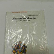 Libros de segunda mano: ALESSANDRO MENDINI COSE , PROGETTI , COSTRUZIONI PETER WEIB 2001 ELECTA ARQUITECTURA NUEVO. Lote 55992778