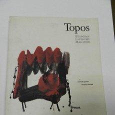 Libros de segunda mano: TOPOS LANDSCAPE MAGAZINE MAYO 1993 PORTADA CESAR MANRIQUE ARQUITECTURA. Lote 56076166