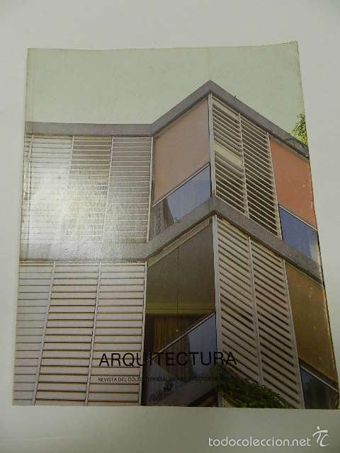 revista del colegio oficial de arquitectos de madrid coderch libros de segunda