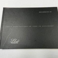 Libros de segunda mano: LUZ Y ARQUITECTURA EN TODO SU ESPLENDOR. GRUPO LLEDÓ. CATÁLOGO 2004. ILUMINACION. Lote 56091483