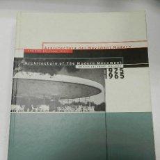 Libros de segunda mano: ARQUITECTURA DEL MOVIMENT MODERN : REGISTRE DOCOMOMO IBÈRIC :1925-1965 . Lote 56105484