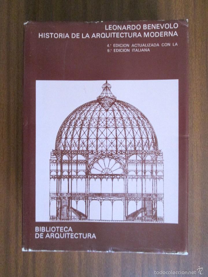 historia de la arquitectura moderna leona comprar