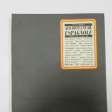 Libros de segunda mano: TRENTE OEUVRES ARCHITECTURE ESPAGNOLE ANNÉES 50- ANNÉES 80. ARQUITECTURA. Lote 56645039