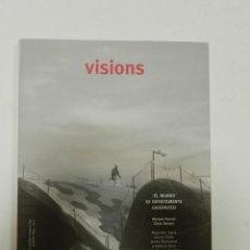 Libros de segunda mano: MIÀS, JOSEP VISIONS 3: EL MUNDO ES INFINITAMENTE CAVERNOSO ARQUITECTURA ENRIC MIRALLES. Lote 56650717