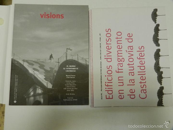 Libros de segunda mano: MIÀS, JOSEP VISIONS 3: EL MUNDO ES INFINITAMENTE CAVERNOSO ARQUITECTURA ENRIC MIRALLES - Foto 2 - 56650717