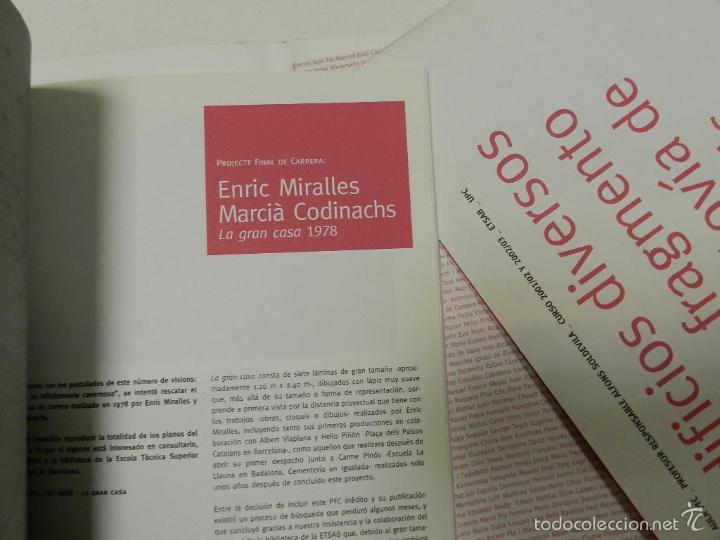 Libros de segunda mano: MIÀS, JOSEP VISIONS 3: EL MUNDO ES INFINITAMENTE CAVERNOSO ARQUITECTURA ENRIC MIRALLES - Foto 3 - 56650717