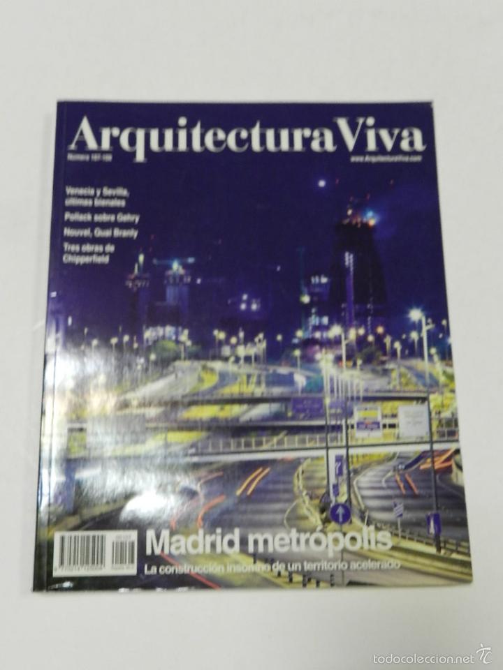 ARQUITECTURA VIVA 107_108 MADRID METRÓPOLIS (Libros de Segunda Mano - Bellas artes, ocio y coleccionismo - Arquitectura)