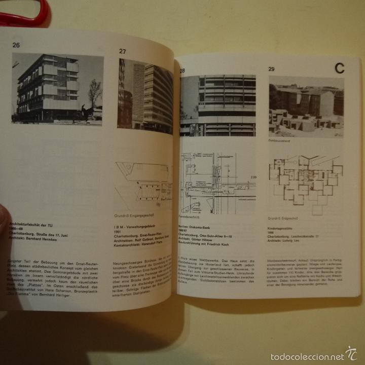 Libros de segunda mano: BAUEN SEIT 1900 IN BERLIN - CONSTRUCCIONES DESDE 1900 EN BERLIN - 1985 - Foto 4 - 56841215