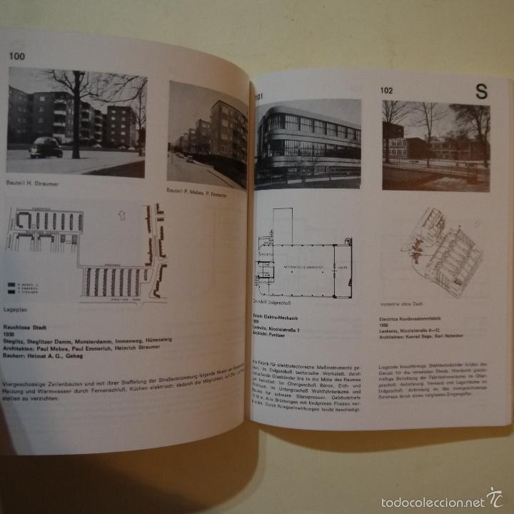 Libros de segunda mano: BAUEN SEIT 1900 IN BERLIN - CONSTRUCCIONES DESDE 1900 EN BERLIN - 1985 - Foto 5 - 56841215