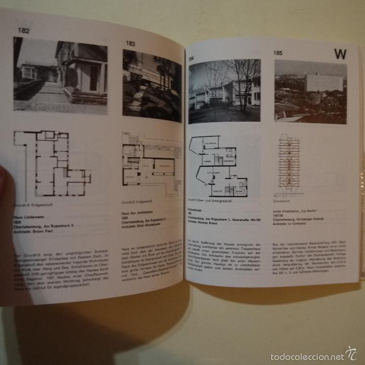 Libros de segunda mano: BAUEN SEIT 1900 IN BERLIN - CONSTRUCCIONES DESDE 1900 EN BERLIN - 1985 - Foto 6 - 56841215