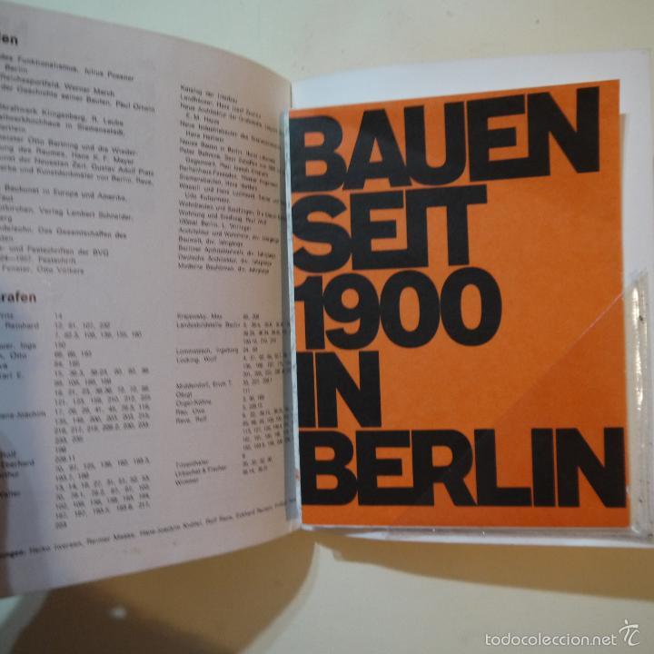 Libros de segunda mano: BAUEN SEIT 1900 IN BERLIN - CONSTRUCCIONES DESDE 1900 EN BERLIN - 1985 - Foto 7 - 56841215