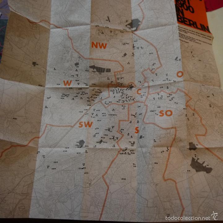 Libros de segunda mano: BAUEN SEIT 1900 IN BERLIN - CONSTRUCCIONES DESDE 1900 EN BERLIN - 1985 - Foto 8 - 56841215