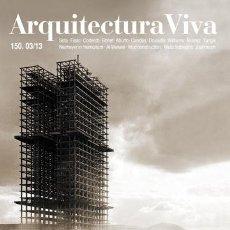 Livres d'occasion: ARQUITECTURA VIVA 150 CENTENARY MASTERS. Lote 56615560