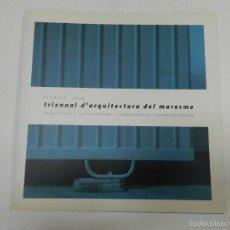 Libros de segunda mano: TRIENNAL D ARQUITECTURA DEL MARESME VV.AA. 2004 DISEÑO INTERIORISMO REHABILITACIÓN. Lote 57143576