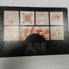 Libros de segunda mano: 1979 ARQUITECTURA REVISTA ARS N° 3 VVAA DESCATALOGADA DIFICIL. Lote 57144206