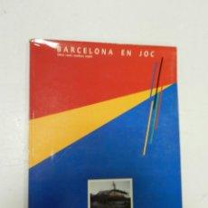 Libros de segunda mano: BARCELONA EN JOC , BARCELONA EN JUEGO .- BARCELONA WHERE THE GAMES AR NO GAME -. ARQUITECTURA . Lote 57144915