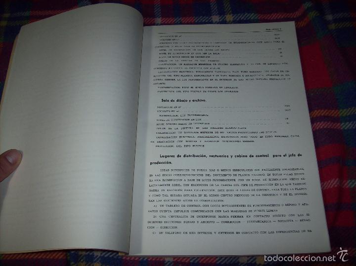 Libros de segunda mano: PROYECTO INDUSTRIAL DE REFORMA PARA DIARIO DE MALLORCA . ANTONIO BENNÀSSAR.1967. ARQUITECTURA. - Foto 4 - 57167433