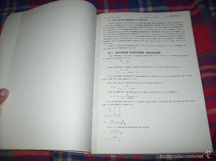 Libros de segunda mano: PROYECTO INDUSTRIAL DE REFORMA PARA DIARIO DE MALLORCA . ANTONIO BENNÀSSAR.1967. ARQUITECTURA. - Foto 6 - 57167433