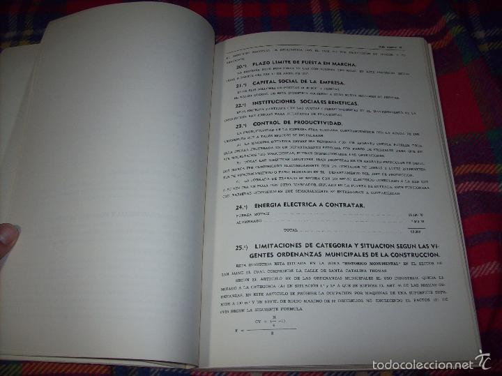 Libros de segunda mano: PROYECTO INDUSTRIAL DE REFORMA PARA DIARIO DE MALLORCA . ANTONIO BENNÀSSAR.1967. ARQUITECTURA. - Foto 7 - 57167433