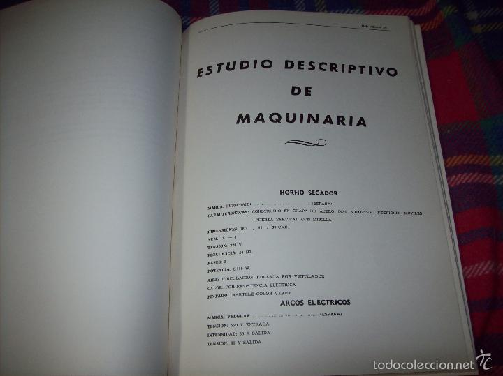 Libros de segunda mano: PROYECTO INDUSTRIAL DE REFORMA PARA DIARIO DE MALLORCA . ANTONIO BENNÀSSAR.1967. ARQUITECTURA. - Foto 8 - 57167433