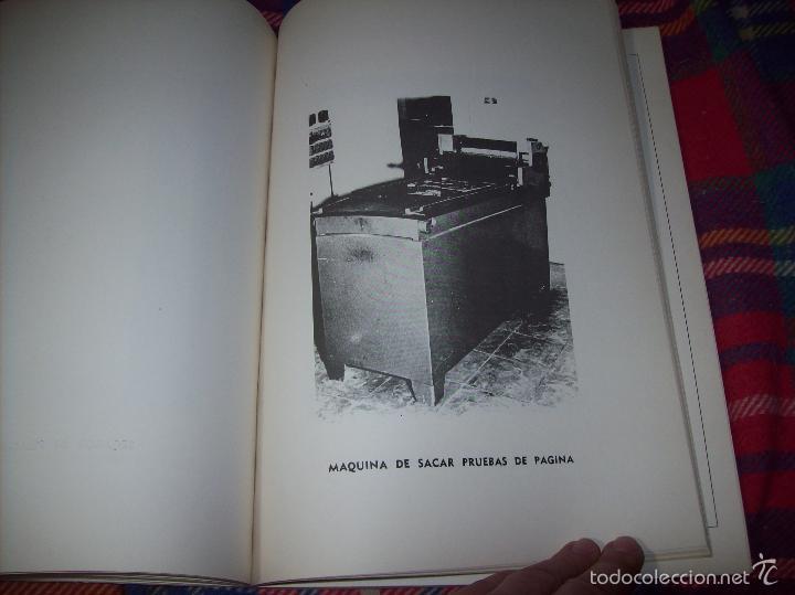 Libros de segunda mano: PROYECTO INDUSTRIAL DE REFORMA PARA DIARIO DE MALLORCA . ANTONIO BENNÀSSAR.1967. ARQUITECTURA. - Foto 12 - 57167433