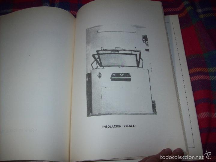 Libros de segunda mano: PROYECTO INDUSTRIAL DE REFORMA PARA DIARIO DE MALLORCA . ANTONIO BENNÀSSAR.1967. ARQUITECTURA. - Foto 14 - 57167433