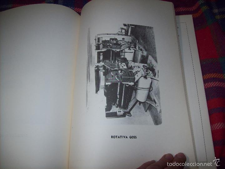 Libros de segunda mano: PROYECTO INDUSTRIAL DE REFORMA PARA DIARIO DE MALLORCA . ANTONIO BENNÀSSAR.1967. ARQUITECTURA. - Foto 15 - 57167433