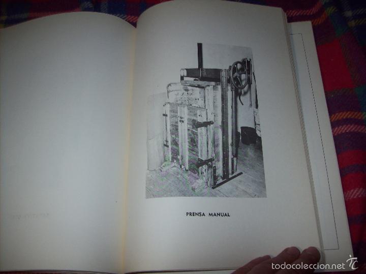 Libros de segunda mano: PROYECTO INDUSTRIAL DE REFORMA PARA DIARIO DE MALLORCA . ANTONIO BENNÀSSAR.1967. ARQUITECTURA. - Foto 16 - 57167433