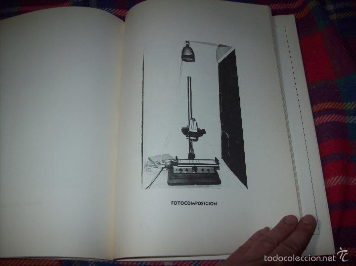 Libros de segunda mano: PROYECTO INDUSTRIAL DE REFORMA PARA DIARIO DE MALLORCA . ANTONIO BENNÀSSAR.1967. ARQUITECTURA. - Foto 17 - 57167433