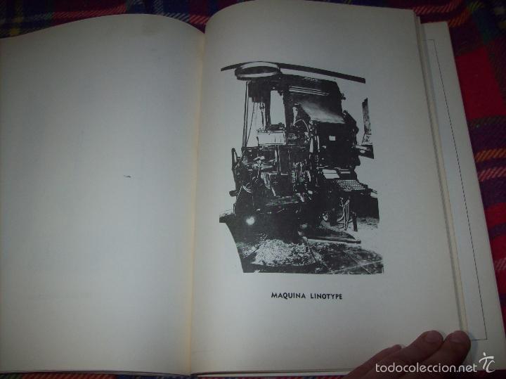 Libros de segunda mano: PROYECTO INDUSTRIAL DE REFORMA PARA DIARIO DE MALLORCA . ANTONIO BENNÀSSAR.1967. ARQUITECTURA. - Foto 18 - 57167433
