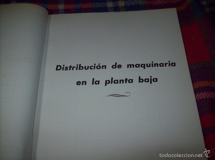Libros de segunda mano: PROYECTO INDUSTRIAL DE REFORMA PARA DIARIO DE MALLORCA . ANTONIO BENNÀSSAR.1967. ARQUITECTURA. - Foto 23 - 57167433