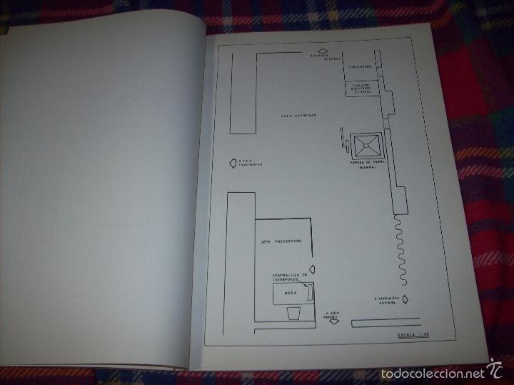 Libros de segunda mano: PROYECTO INDUSTRIAL DE REFORMA PARA DIARIO DE MALLORCA . ANTONIO BENNÀSSAR.1967. ARQUITECTURA. - Foto 24 - 57167433