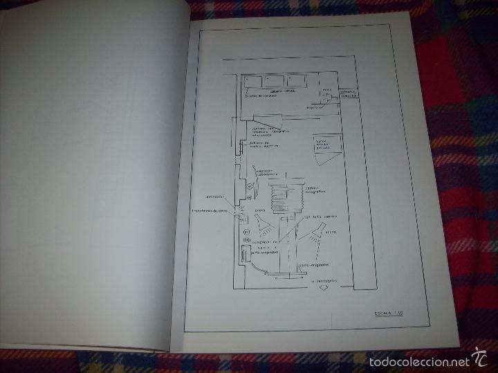 Libros de segunda mano: PROYECTO INDUSTRIAL DE REFORMA PARA DIARIO DE MALLORCA . ANTONIO BENNÀSSAR.1967. ARQUITECTURA. - Foto 25 - 57167433