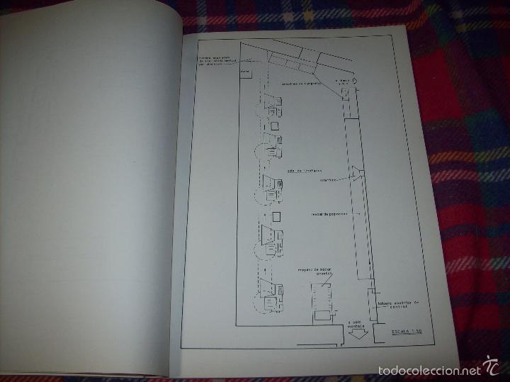 Libros de segunda mano: PROYECTO INDUSTRIAL DE REFORMA PARA DIARIO DE MALLORCA . ANTONIO BENNÀSSAR.1967. ARQUITECTURA. - Foto 26 - 57167433