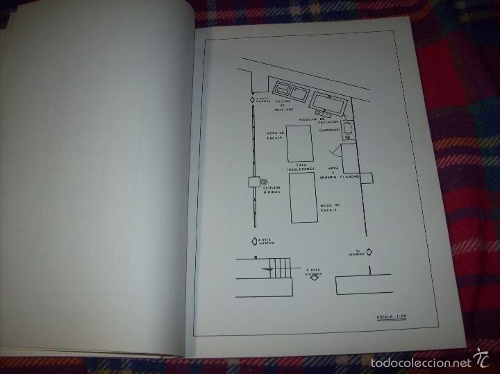 Libros de segunda mano: PROYECTO INDUSTRIAL DE REFORMA PARA DIARIO DE MALLORCA . ANTONIO BENNÀSSAR.1967. ARQUITECTURA. - Foto 27 - 57167433