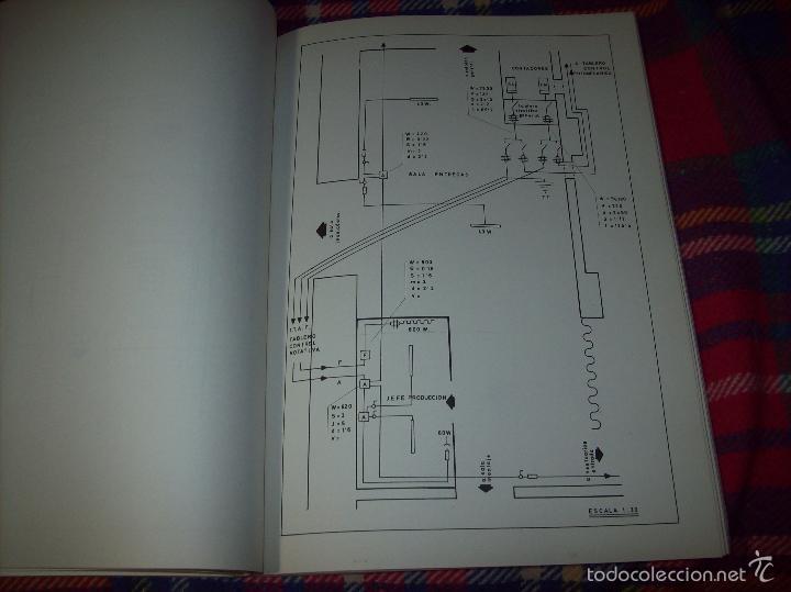 Libros de segunda mano: PROYECTO INDUSTRIAL DE REFORMA PARA DIARIO DE MALLORCA . ANTONIO BENNÀSSAR.1967. ARQUITECTURA. - Foto 30 - 57167433