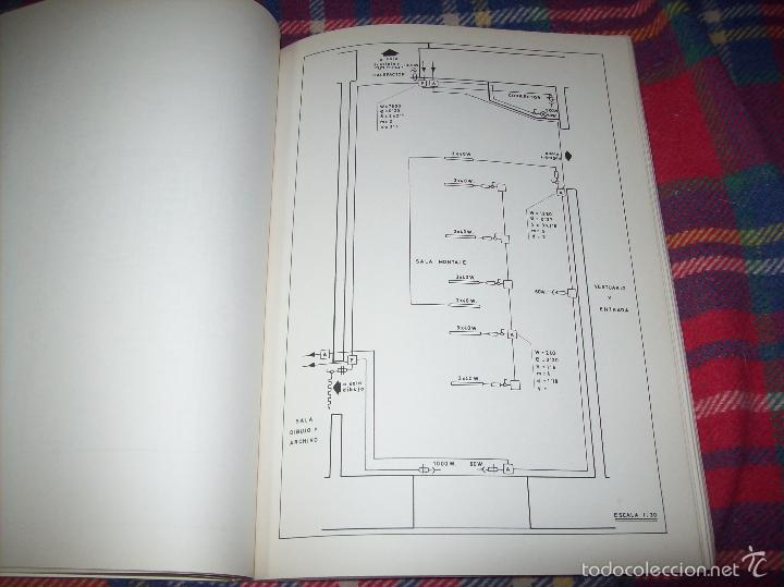 Libros de segunda mano: PROYECTO INDUSTRIAL DE REFORMA PARA DIARIO DE MALLORCA . ANTONIO BENNÀSSAR.1967. ARQUITECTURA. - Foto 31 - 57167433