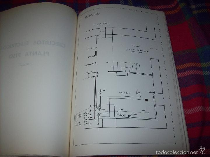 Libros de segunda mano: PROYECTO INDUSTRIAL DE REFORMA PARA DIARIO DE MALLORCA . ANTONIO BENNÀSSAR.1967. ARQUITECTURA. - Foto 34 - 57167433