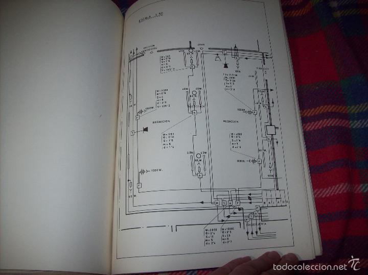 Libros de segunda mano: PROYECTO INDUSTRIAL DE REFORMA PARA DIARIO DE MALLORCA . ANTONIO BENNÀSSAR.1967. ARQUITECTURA. - Foto 36 - 57167433