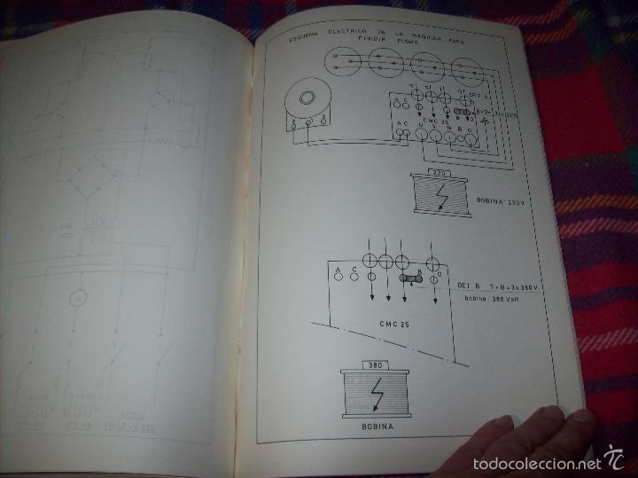 Libros de segunda mano: PROYECTO INDUSTRIAL DE REFORMA PARA DIARIO DE MALLORCA . ANTONIO BENNÀSSAR.1967. ARQUITECTURA. - Foto 39 - 57167433