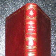 Libros de segunda mano: CAPELLA, MIGUEL: LA CASA-PALACIO DE LA CAMARA DE LA INDUSTRIA DE MADRID. 1961. PLENA PIEL. Lote 49355565