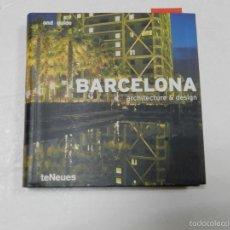 Libros de segunda mano: BARCELONA AND GUIDE (ARCHITECTURE & DESIGN GUIDES) TURTLEBACK – 2004 ARQUITECTURA. Lote 57302874