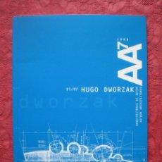 Libros de segunda mano: AA 7. 1998. ARQUITECTURAS DE AUTOR. HUGO DWORZAK. COAVN. ETSAUN.. Lote 57406541