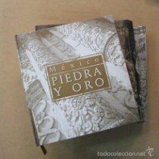 Libri di seconda mano: MÉXICO PIEDRA Y ORO, VOLÚMENES I, II Y III AÑO 2000. Lote 57471608