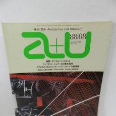 Libros de segunda mano: A+U ARCHITECTURE URBANISM 215 1988 ENGLISH JAPANESE ARQUITECTURA DANIEL LIBESKIND GINO VALLE AURELIO. Lote 57981417