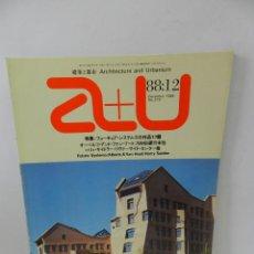 Libros de segunda mano: A+U ARCHITECTURE AND URBANISM 219 1988 ENGLISH JAPANESE ARQUITECTURA ALBERT VAN HUUT HARRY SEIDLER. Lote 57981423