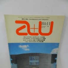 Libros de segunda mano: A+U. ARCHITECTURE AND URBANISM 170 NOV 1984 ENGLISH AND JAPANESE. ARQUITECTURA. Lote 57981432
